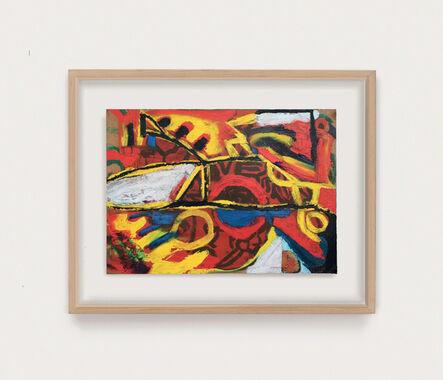 Arthur Lanyon, 'Tin Man, Space Car, Icarus', 2020
