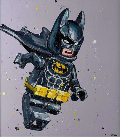 Paul Oz, 'Lego Batman', 2017