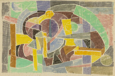 Judith Rothschild, 'Composition', ca. 1949