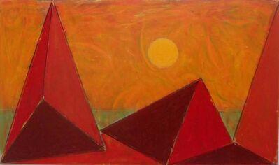Paul Resika, 'Great Dunes - Yellow Sun', 2017