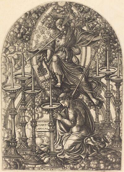Jean Duvet, 'Saint John Sees the Seven Golden Candlesticks', 1546/1556