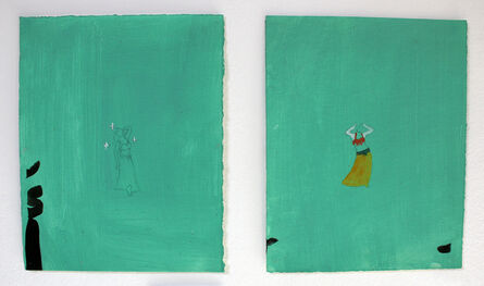 Jumana Emil Abboud, 'The Dancers #8 and #9', 2003