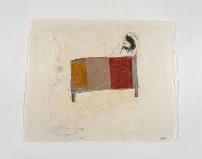 Azade Köker, 'Frau im Bett', 2017