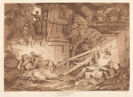 François-Philippe Charpentier after Jean-Honoré Fragonard, 'La Culbute (The Tumble)', 1766