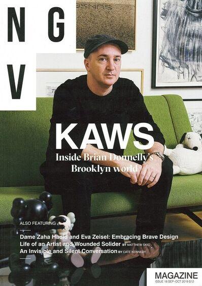 KAWS, 'KAWS NGV Magazine, 2019', ca. 2019