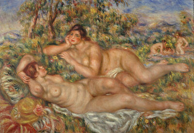 Pierre-Auguste Renoir, 'The Bathers', 1918–19