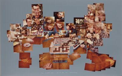 David Hockney, ''The Scrabble Game January 1, 1983'', 1983