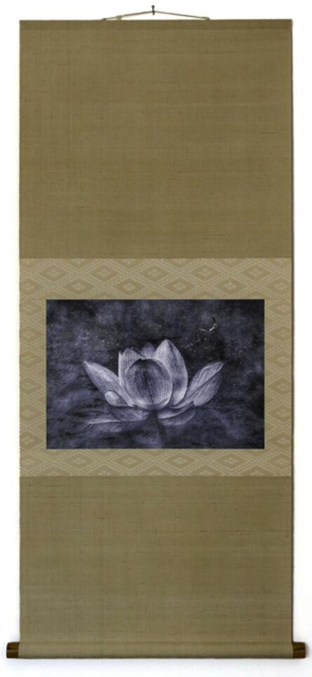Kenji Wakasugi, 'Sign of the Buddha (Printed on silver leaf and mounted on a scroll by Genyu Yoshihashi)', 2017