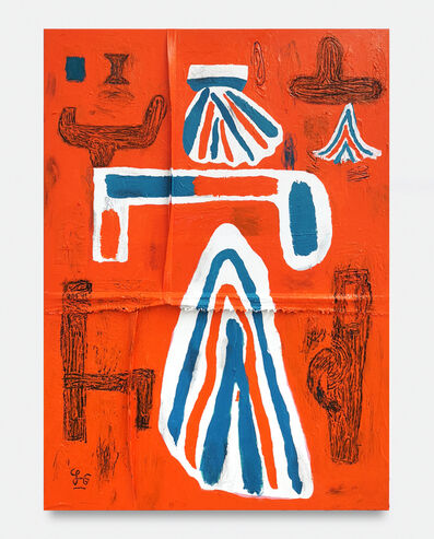 Soeren Behncke, 'Orange of  Arabia', 2021