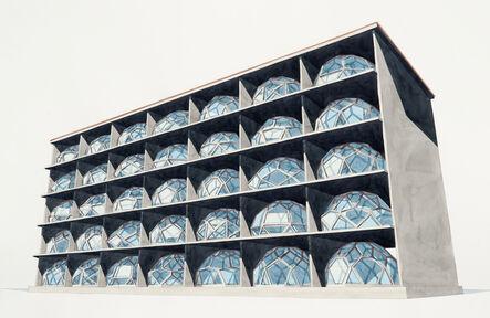Dagoberto Rodríguez, 'Edificio de Diamantes', 2020