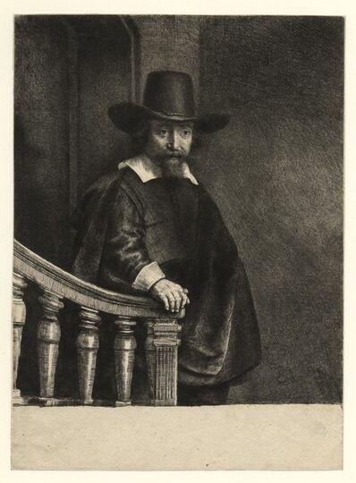 Rembrandt van Rijn, 'Ephraim Bonus, Jewish Physician', 1647