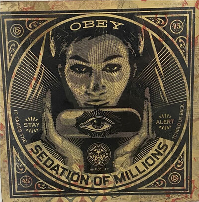 Shepard Fairey, 'Sedation of Millions', 2013