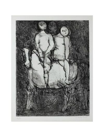 Marino Marini, 'Passeggiata ', 1968