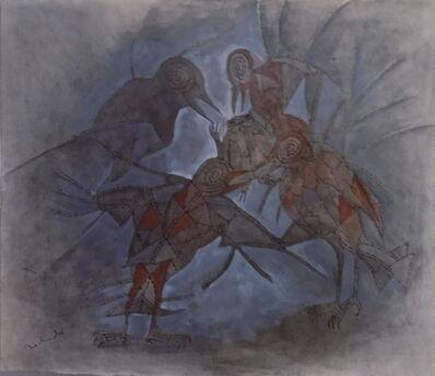Francisco Toledo, 'Cuatro Pajaros Con Sapo', 1970's-1980's