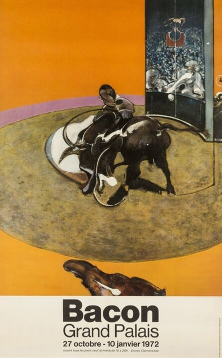 Francis Bacon, 'An exhibition poster for Grand Palais, October - January 1972', 1972