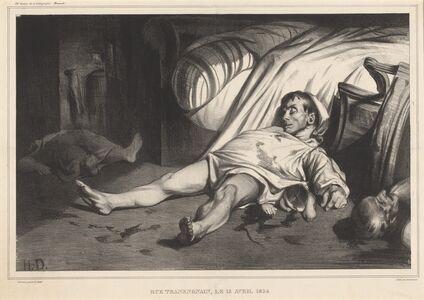 Honoré Daumier, 'Rue Transnonain, le 15 avril 1834', 1834
