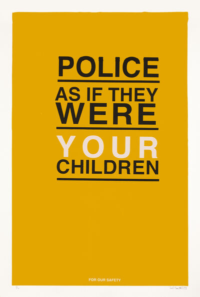 Charles Mason III, 'Police As If They Were Your Own Children', 2021