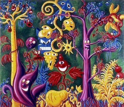 Kenny Scharf, 'Juicy Jungle', 1988