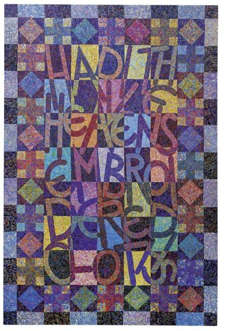 Tom Phillips, 'Had I The Heavens' Embroidered Cloths', 1997-01
