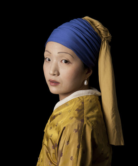 E2 - KLEINVELD & JULIEN, 'Ode to Vermeer's Girl with a Pearl Earring ', 2012
