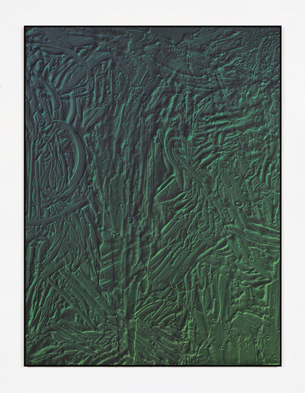 Michael Staniak, 'Oxide painting 045', 2018