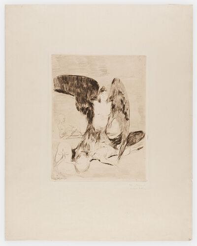 Edvard Munch, 'Harpy', 1894