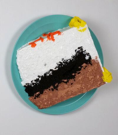 Peter Anton, 'Frozen Cake Slice', 2015
