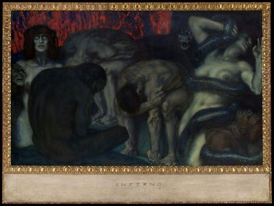 Franz von Stuck, 'Inferno', 1908