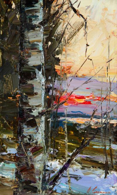 Andrey Selenin, 'March sunset', 2018