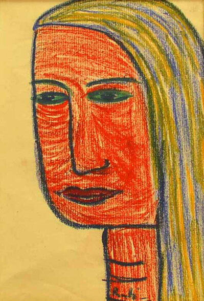 Richard Bartholomew, 'Untitled (Sketch of a Woman - II)'