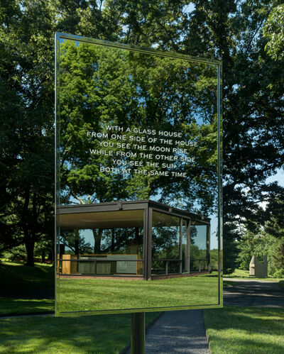 Jenny Holzer, 'In a Glass House', 2018