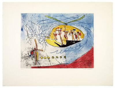Roberto Matta, 'L'Helicoptère', 1962