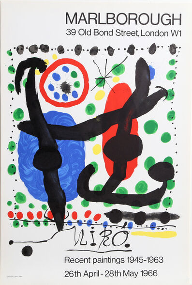 Joan Miró, 'Recent Paintings 1945-1963 Exhibition', 1966