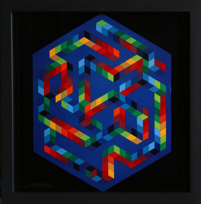 Victor Vasarely, 'Untitled 5 from Progressions', 1973