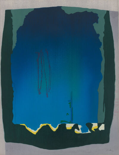 Helen Frankenthaler, 'Freefall', 1993