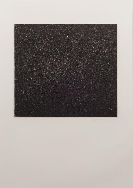 Vija Celmins, 'Night Sky Woodcut', 1997