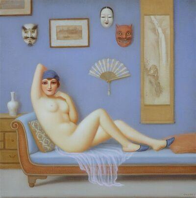 Colette Calascione, 'L'Amour Bleu', 2014