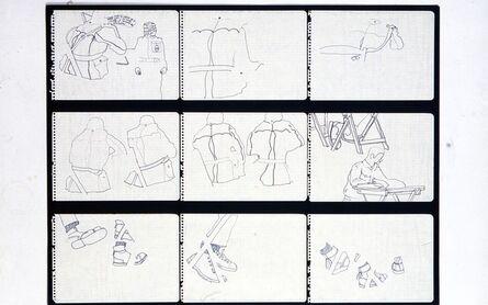 Antoni Miralda, 'Cuadernos Castillejos #2 (ángulo de dirección)', 1969