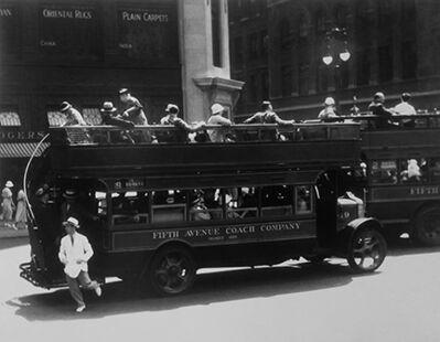 Berenice Abbott, 'Fifth Avenue Coach Company, New York', 1932