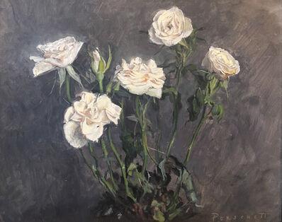 Rachel Personett, 'Little White Roses', 2018