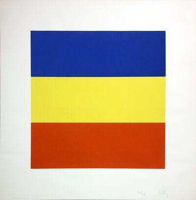 Ellsworth Kelly, 'Blue/Yellow/Red (Untitled)', 1970-1973