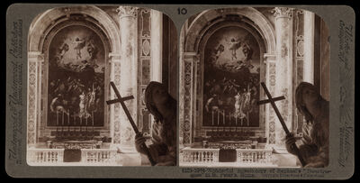 Bert Underwood, 'Mosaic copy of Raphael's Transfiguration in St. Peter's', 1900