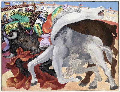 Pablo Picasso, 'Corrida : la mort du toréro', 1933