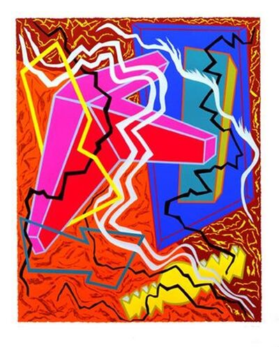 Joan Thorne, 'Untitled Abstract Expressionist Silkscreen for Lincoln Center', 1982
