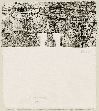 Eduardo Chillida, 'Elogio del Horizonte', 1990