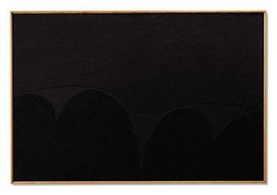 Alberto Burri, 'Nero Mi n. 5 ', 1989