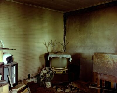 Steve Fitch, 'Living Room In A House Near Ludlow, Eastern Colorado, July 6', 1999