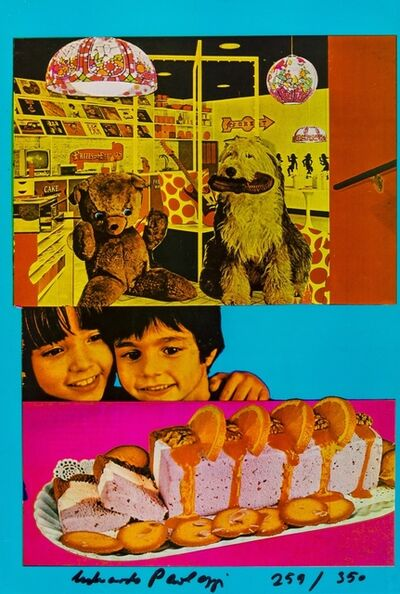 Eduardo Paolozzi, 'Why Children Commit Suicide . . . Read Next Month's Issue (9) (Sidey 821)', 1965-70
