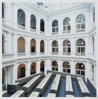 Candida Höfer, 'Universitätsbibliothek Hamburg B 2000', 2002