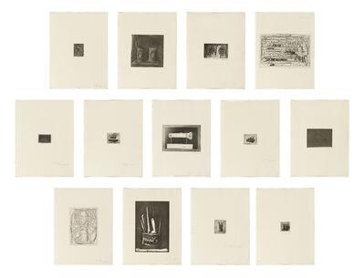 Jasper Johns, '1st Etchings, 2nd State', 1969